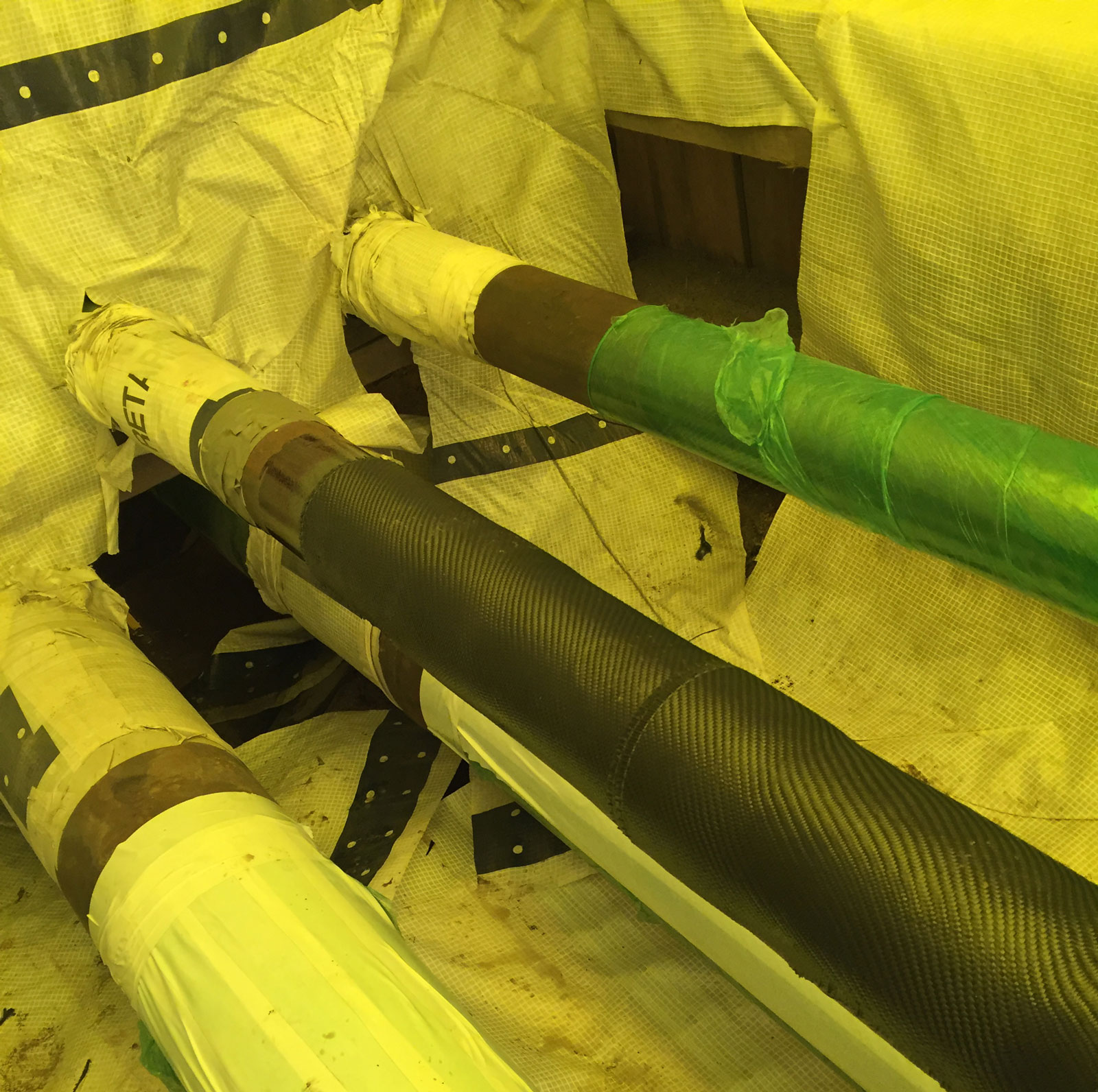 Composite Pipe Repair Pipe-Type Cables - HPFF