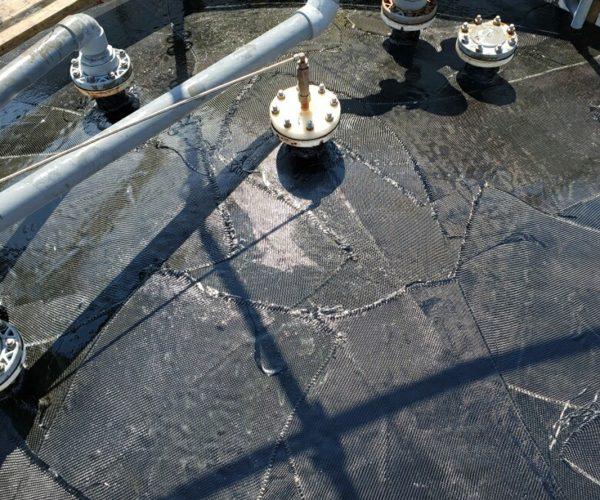 Composite Tank Repair Chemical Storage Tanks