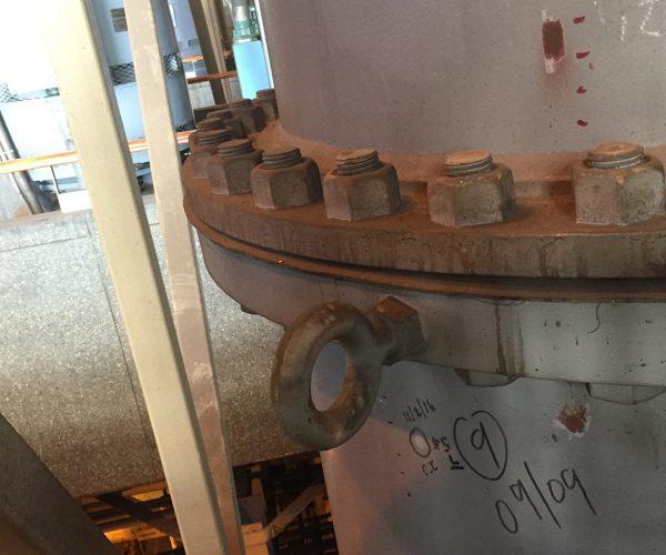 Composite Pipe Repair Raw Sewage Piping
