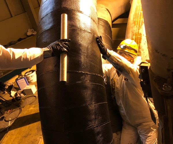 Composite Pipe Repair Coal Pipe Elbows